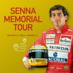 Senna Memorial Tour en Ferrari